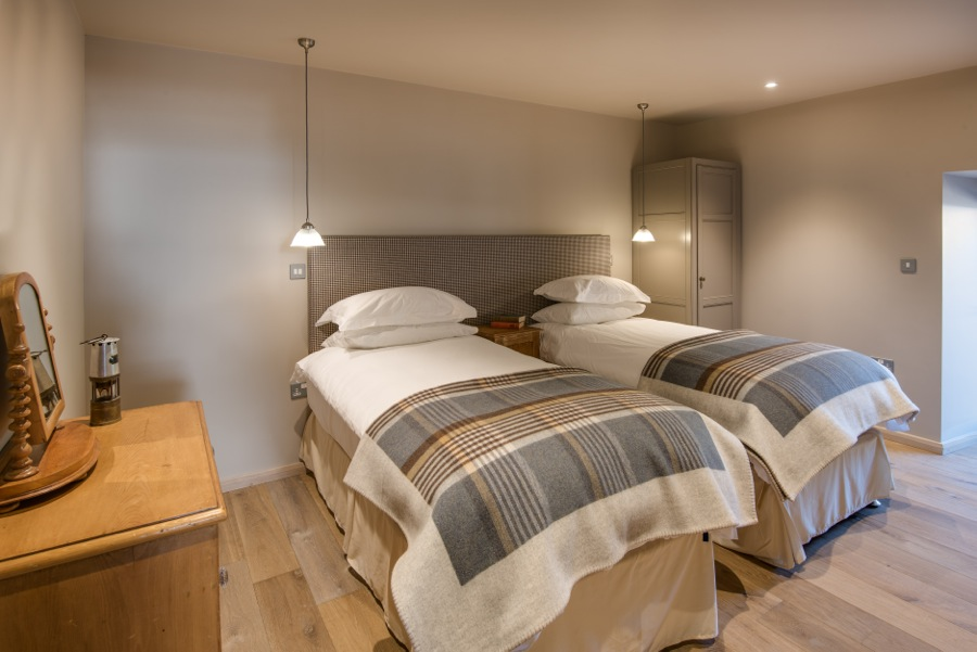 13. Downstairs twin or double bedroom with disabled access