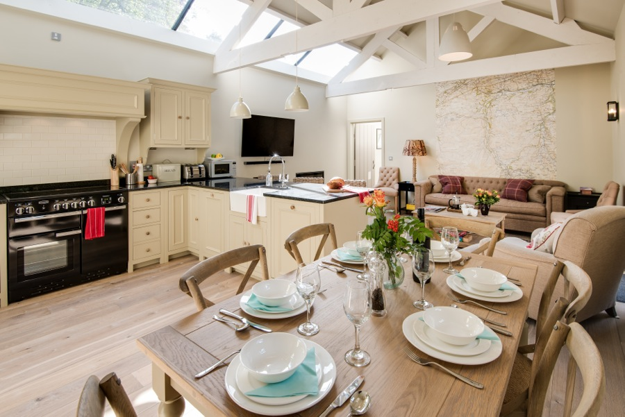 4. Dining in the Cowshed
